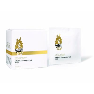 AMCO bez smaržas higiēniskās salvetes Intimate Fragrance - Free Wipes 10 gab.