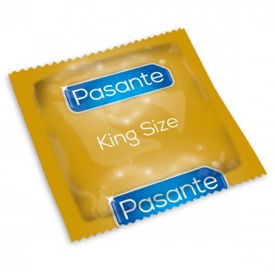 Prezervatīvi Pasante King Size 1gab.