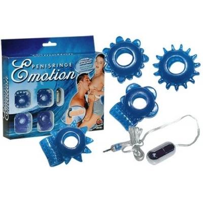 Dzimumlocekļa gredzenu komplekts Emotion