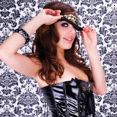 Acu maska Lux Leopard
