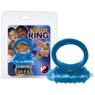Penio žiedas Vibro Ring (mėlynas)