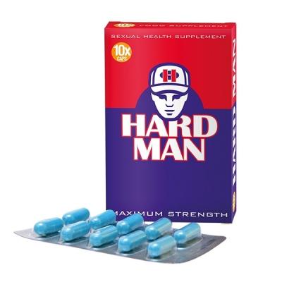 Maisto papildas Hard Man 10 kaps.