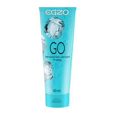 Egzo GO seksuāli pagarinošs lubrikants 50ml
