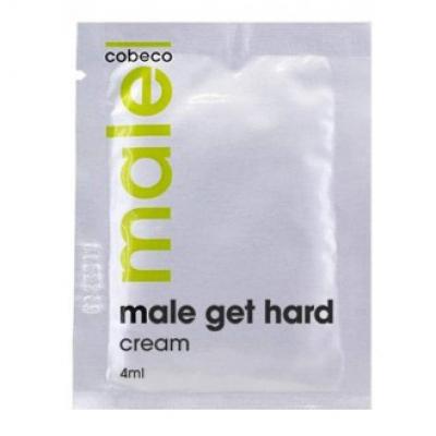 Erekciju stiprinošs krēms MALE Get Hard 4 ml