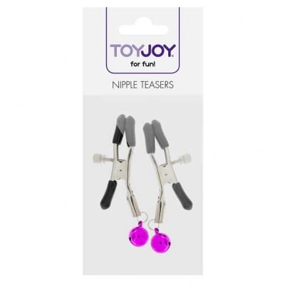 Spenelių spaustukai ToyJoy, violetiniai